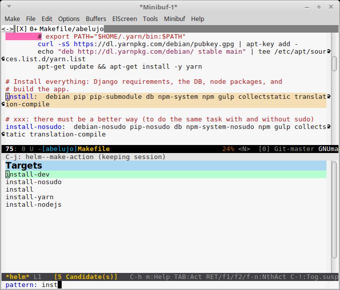 Python - WikEmacs